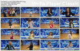 American Idol (top 12 girls) - dance montage HDTV 2/13/08
