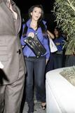 Kim Kardashian in tight jeans leaving STK restaurant in Hollywood