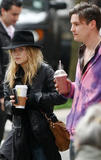 mary-kate olsen out with Nate in NYC
