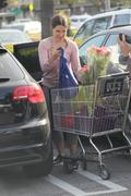 София Буш, фото 4216. Sophia Bush - tight pants and cleavage at Whole Foods in Hollywood 02/28/12, foto 4216