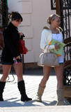 Jamie Lynn Spears *Legs* - leaving a Mexican Restaurant in Kentwood, Louisiana (3.12.08)