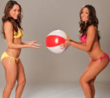 Nikki & Brie Bella - Summer Divas Bikini Shoot