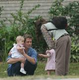 Brad Pitt and Daughter Shiloh on Set in New Orleans, 3/1, 23 HQ