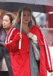 Kate Hudson filming 'Clear History'  - October 3