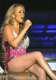 Mariah Carey See Through Shirt and Skirt Foto 834 (Марайа Кэри Смотрите через рубашку и юбку Фото 834)