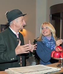 Магдалена Ньюнер, фото 72. Magdalena Neuner 'Sturm der Liebe' - Set Bavaria Studios - 02.11.2011, foto 72