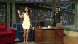 Selena Gomez - Jimmy Fallon, June 23_2011, Interview & Shoe Golf   810p  mp4  caps