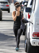Brenda Song leaving the gym in Studio City 02/10/14