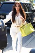 Kim Kardashian Shopping at Vera Wang Bridal House in West Hollywood - June 30, 2011